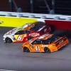 Ryan Newman and Daniel Suarez at Darlington Raceway