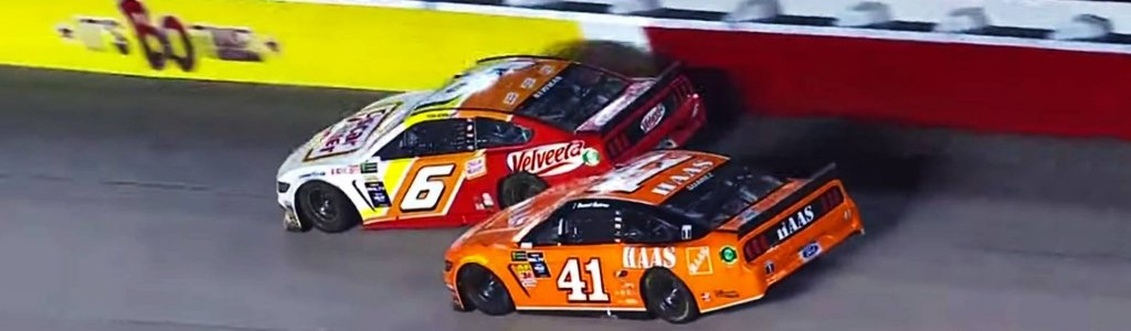 Ryan Newman vs Daniel Suarez at Darlington Raceway (Video)
