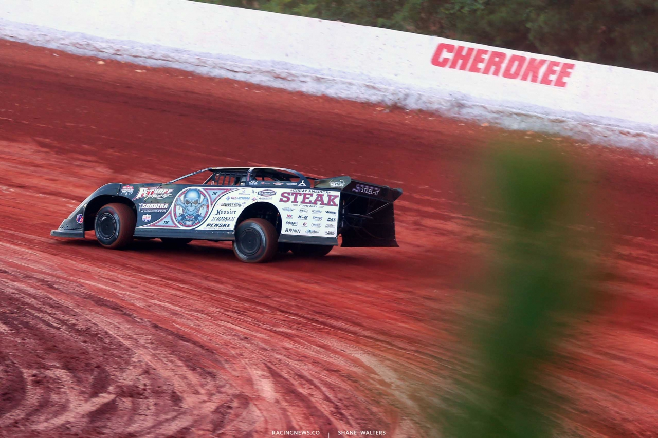 Scott Bloomquist at Cherokee Speedway 5399