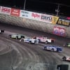 Shannon Babb, Tyler Erb, Hudson O'Neal and Jonathan Davenport at Knoxville Raceway - Lucas Oil Late Model Nationals 6752