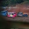 Tim McCreadie, Josh Richards, Brandon Overton and Chris Ferguson at Tyler County Speedway 6469