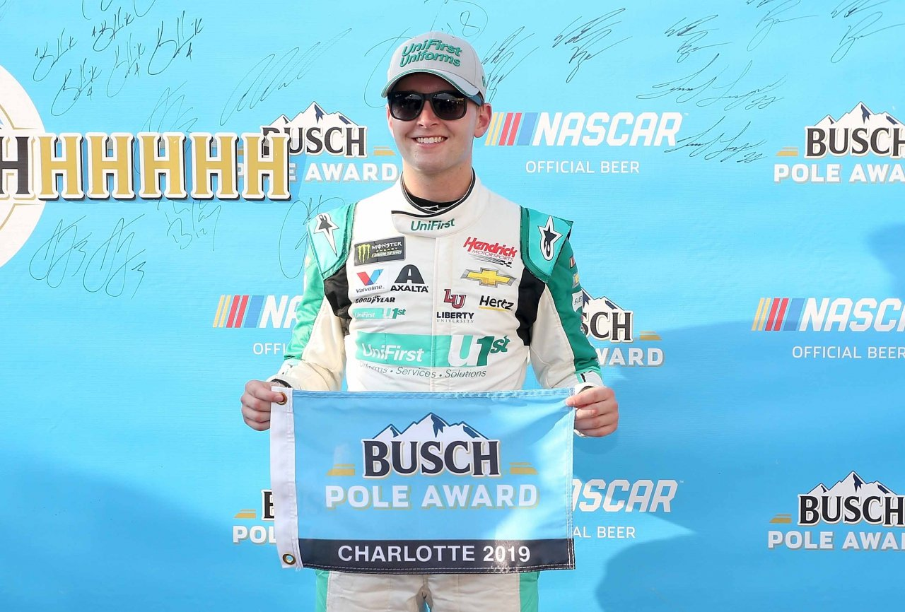William Byron - Busch Pole Award at The Roval - Charlotte Motor Speedway