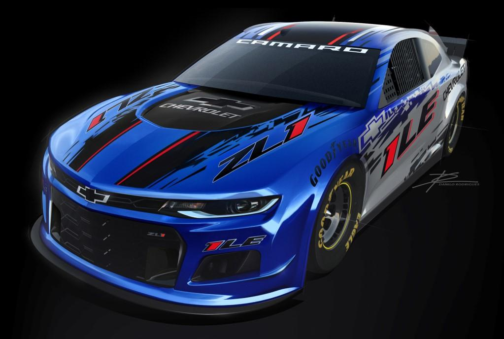 chevy camaro released  nascar cup series racing news