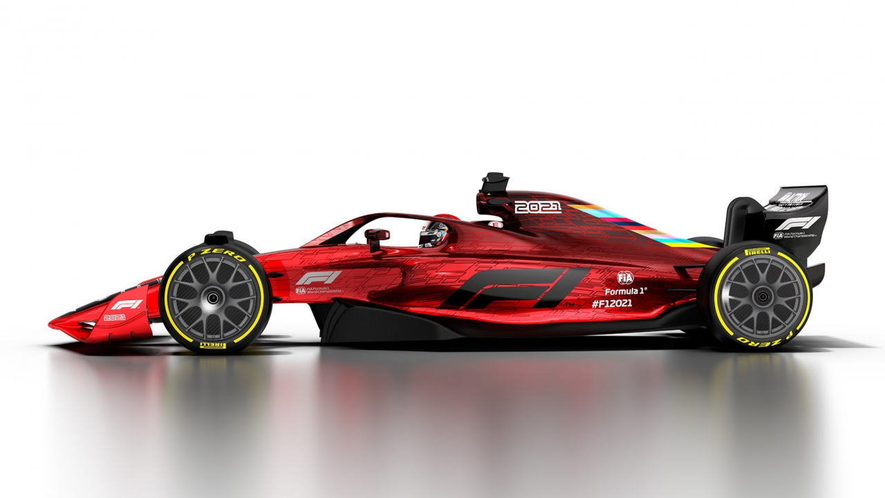 2021 Formula 1 design