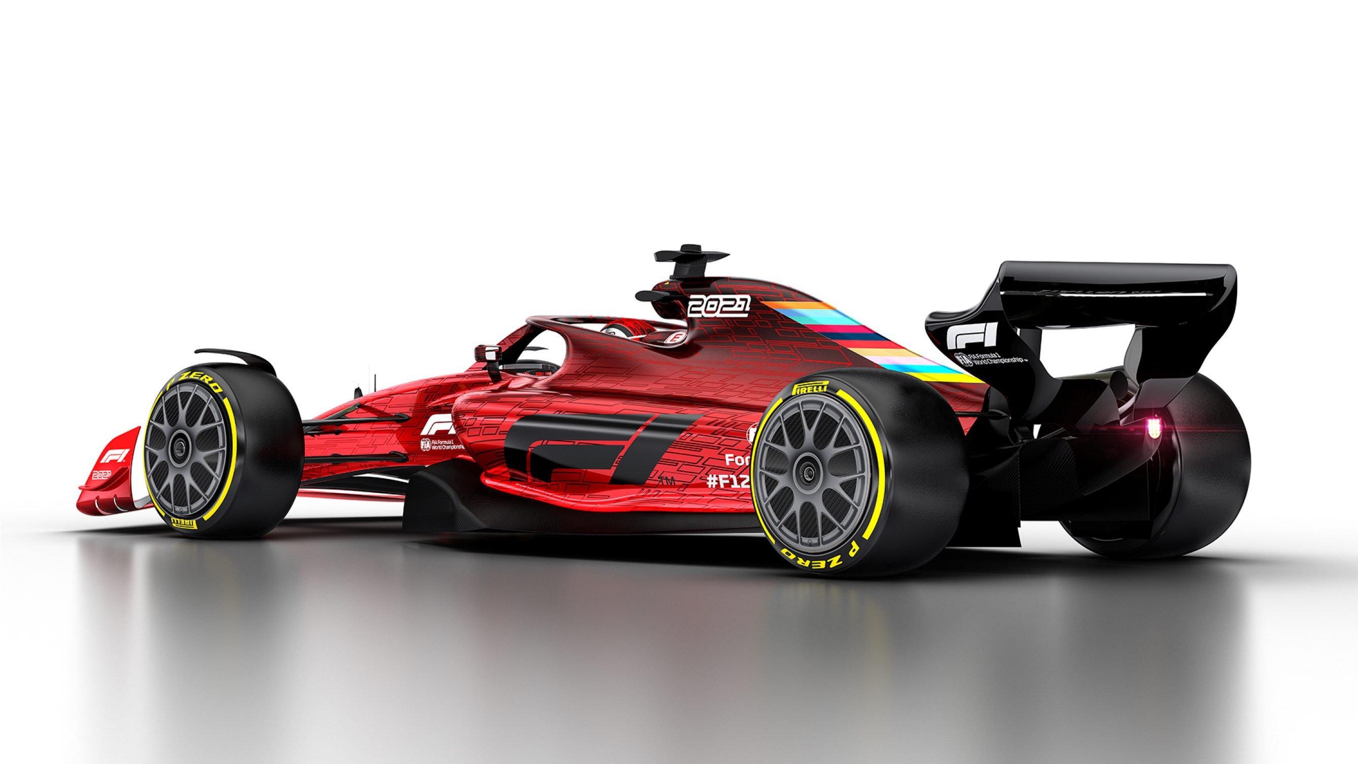 2021 Formula One car photo