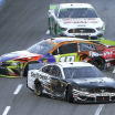 Aric Almirola and Kyle Busch at Martinsville Speedway - NASCAR Cup Series