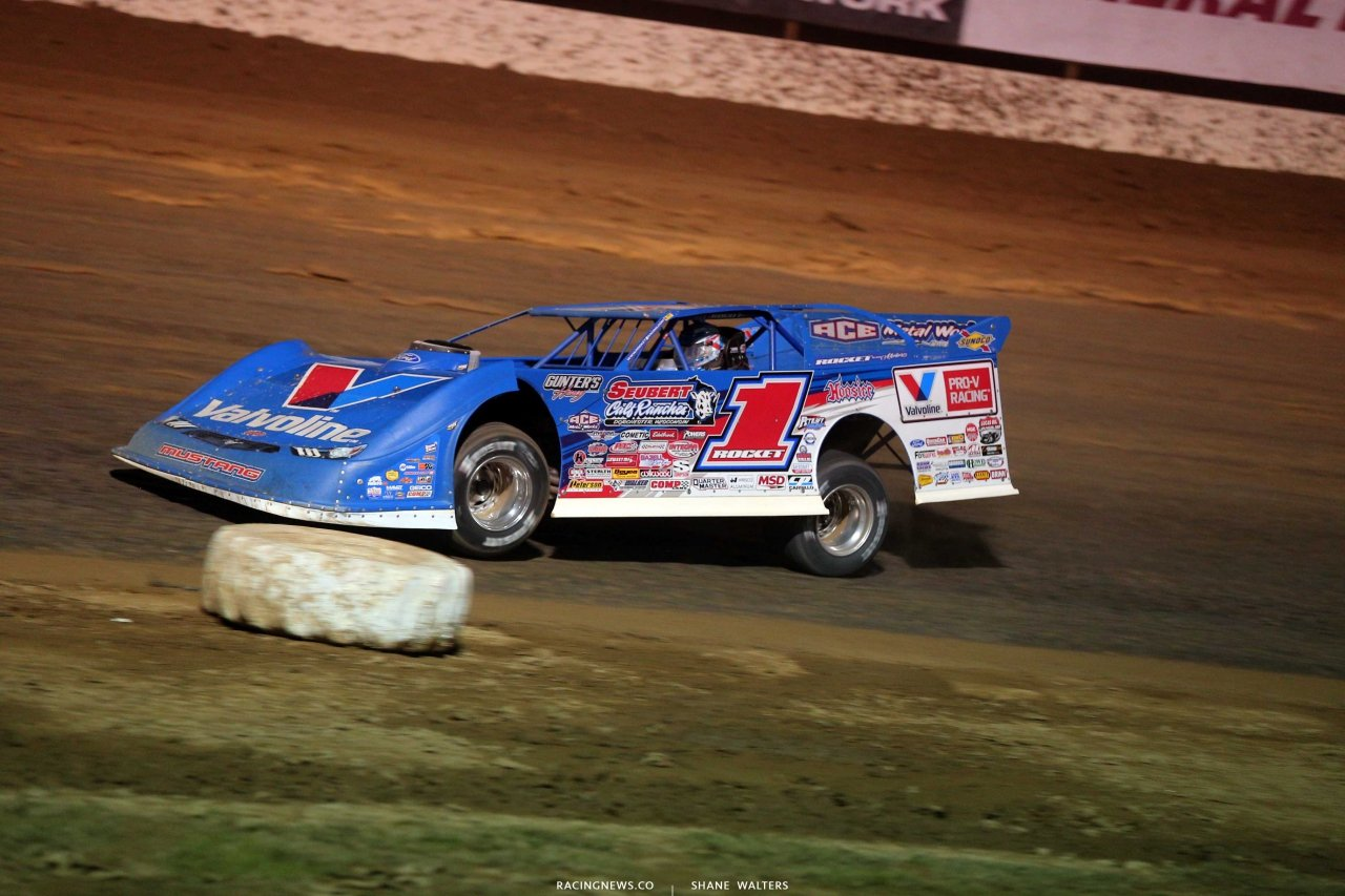 Brandon Sheppard at Portsmouth Raceway Park - Lucas Series 9329