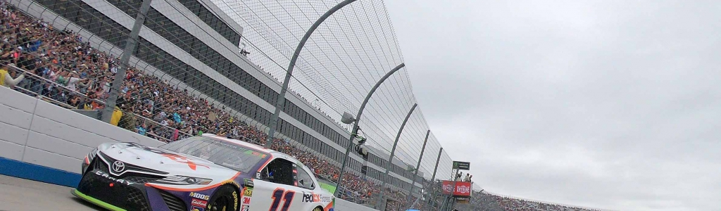 Denny Hamlin frustrated with Joey Logano after Dover
