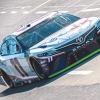 Denny Hamlin at Martinsville Speedway - NASCAR