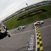 Denny Hamlin beats Chase Elliott at Kansas Speedway - NASCAR Cup Series