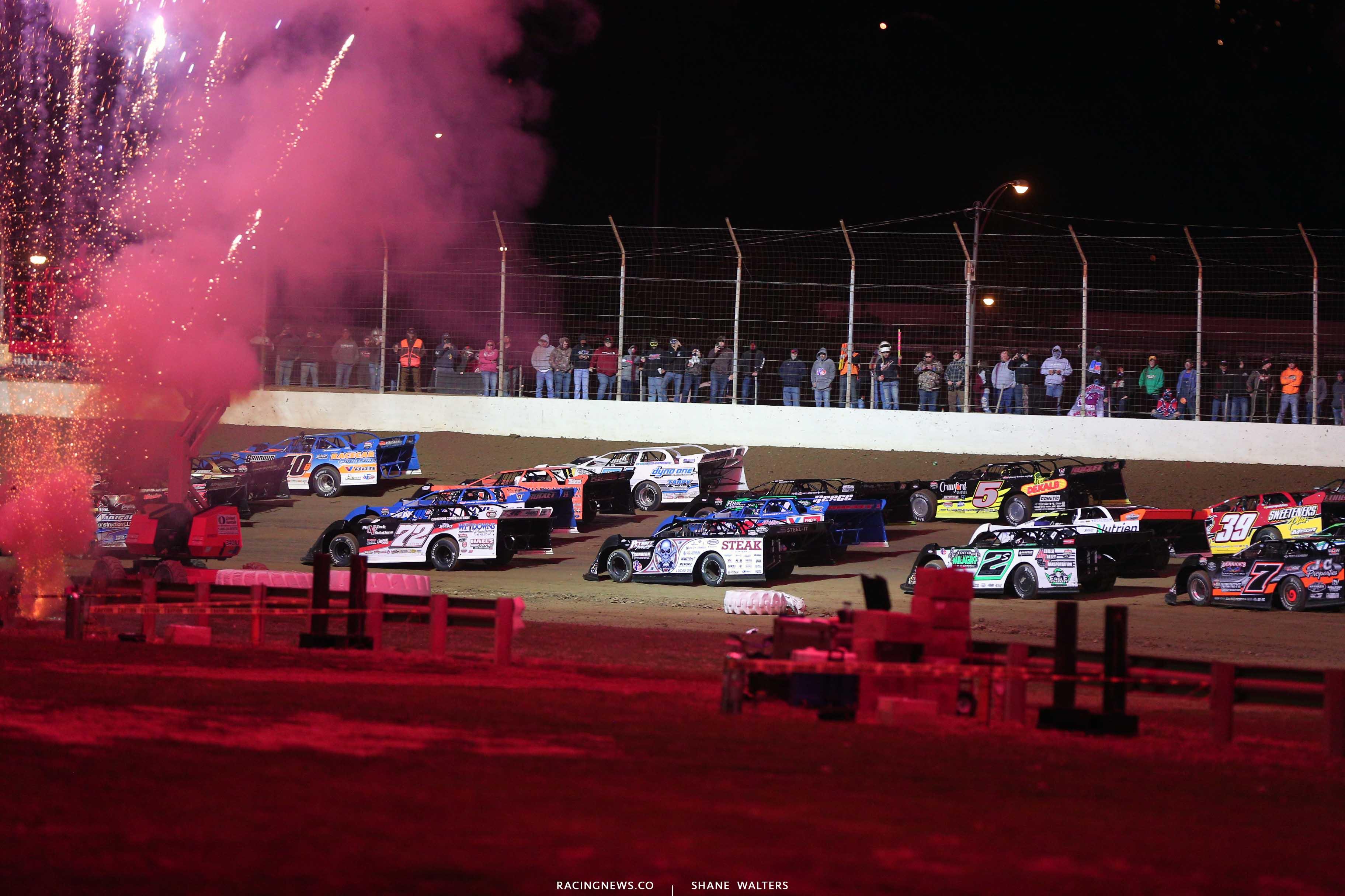 Dirt Track World Championship at Portsmouth Raceway Park - Lucas Oil Late Model Dirt Series 9211