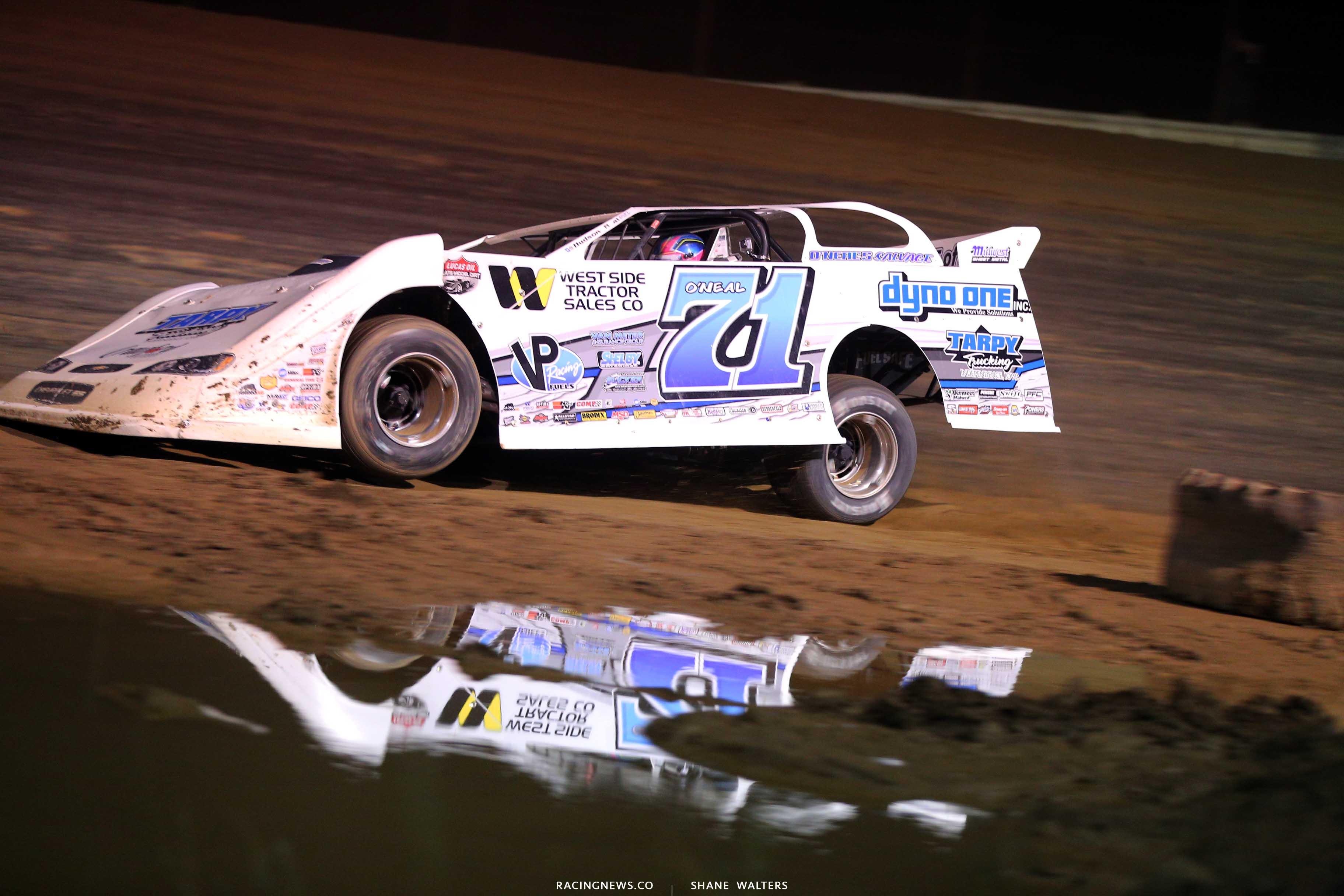 Hudson O'Neal at Raceway 7 - Lucas Oil Dirt Series 8331