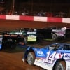 Jimmy Owens, Michael Page and Josh Richards at Dixie Speedway - Lucas Oil Late Models 8734