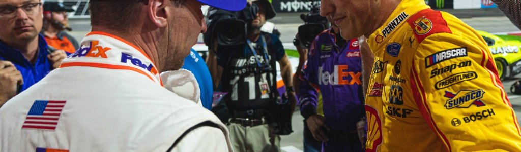 NASCAR driver disagreements in a time of social distancing?