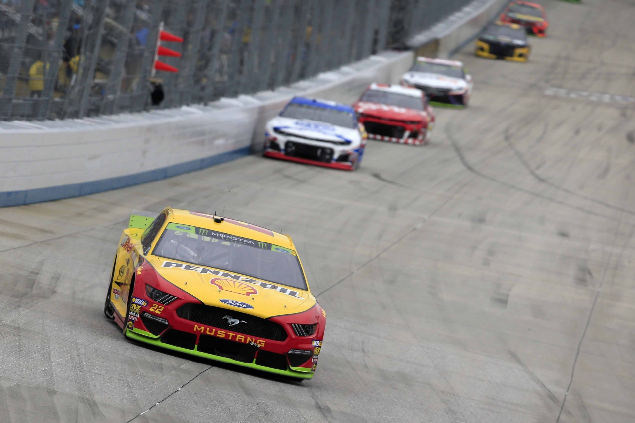 Joey Logano at Dover International Speedway