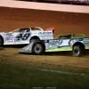 Jonathan Davenport and Tyler Erb in the Dirt Track World Championship - Lucas Oil Late Model Dirt Series 8973