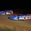 Kyle Bronson, Josh Richards and Jonathan Davenport at Raceway 7 - Lucas Oil Late Models 8274