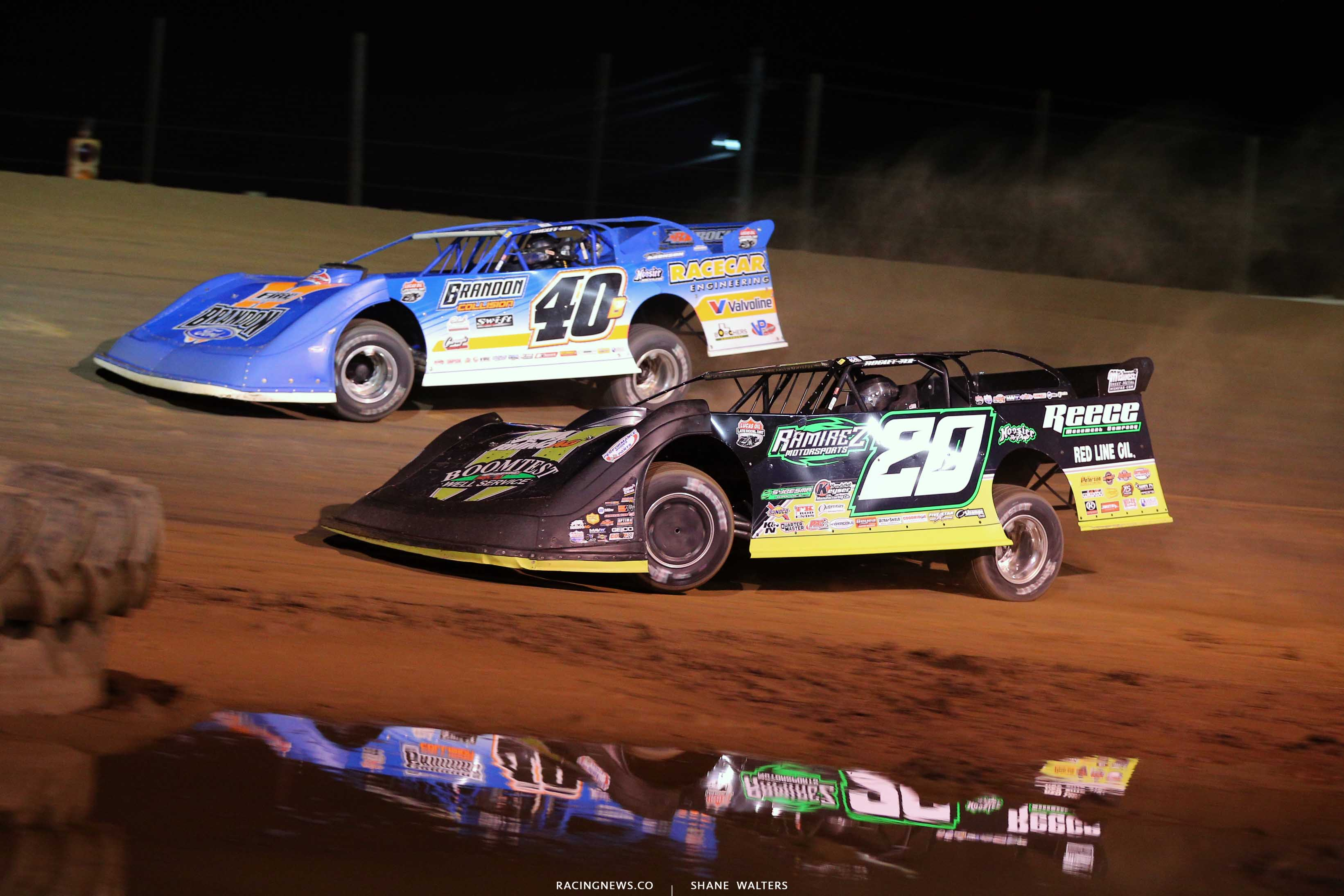 Kyle Bronson and Jimmy Owens at Raceway 7 - LOLMDS 8292