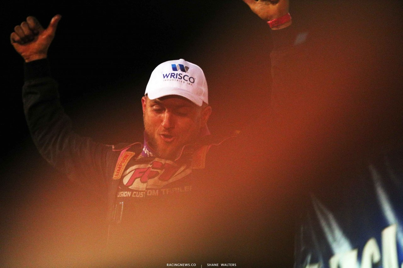 Michael Page wins at Dixie Speedway 8880