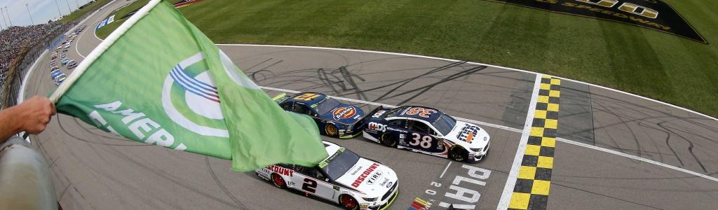 Kansas Race Results: October 20, 2019 (NASCAR Cup Series)