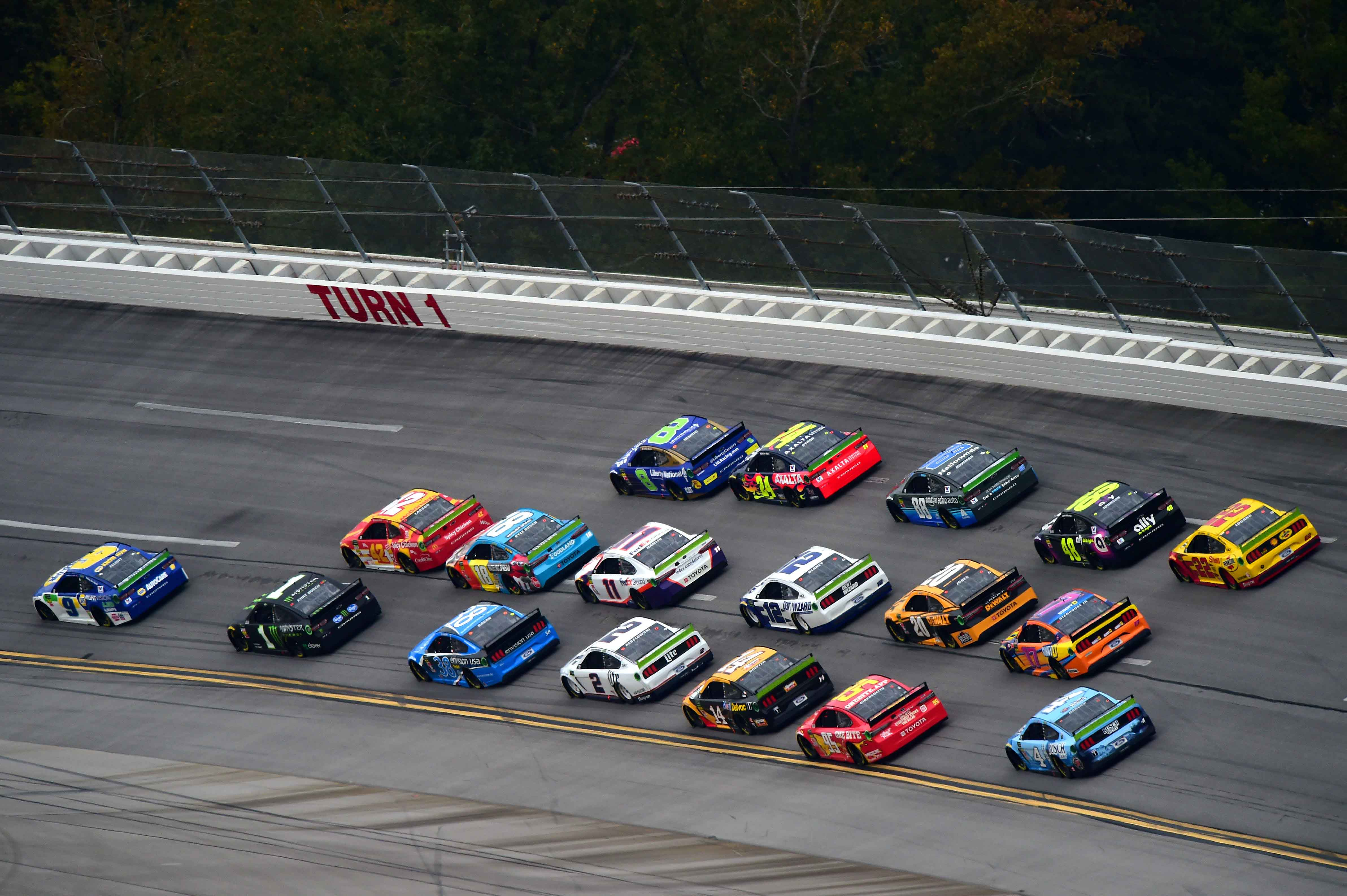 Talladega Race Results: October 14, 2019 (NASCAR Cup Series)