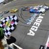 NASCAR finish at Talladega Superspeedway - Ryan Blaney and Ryan Newman