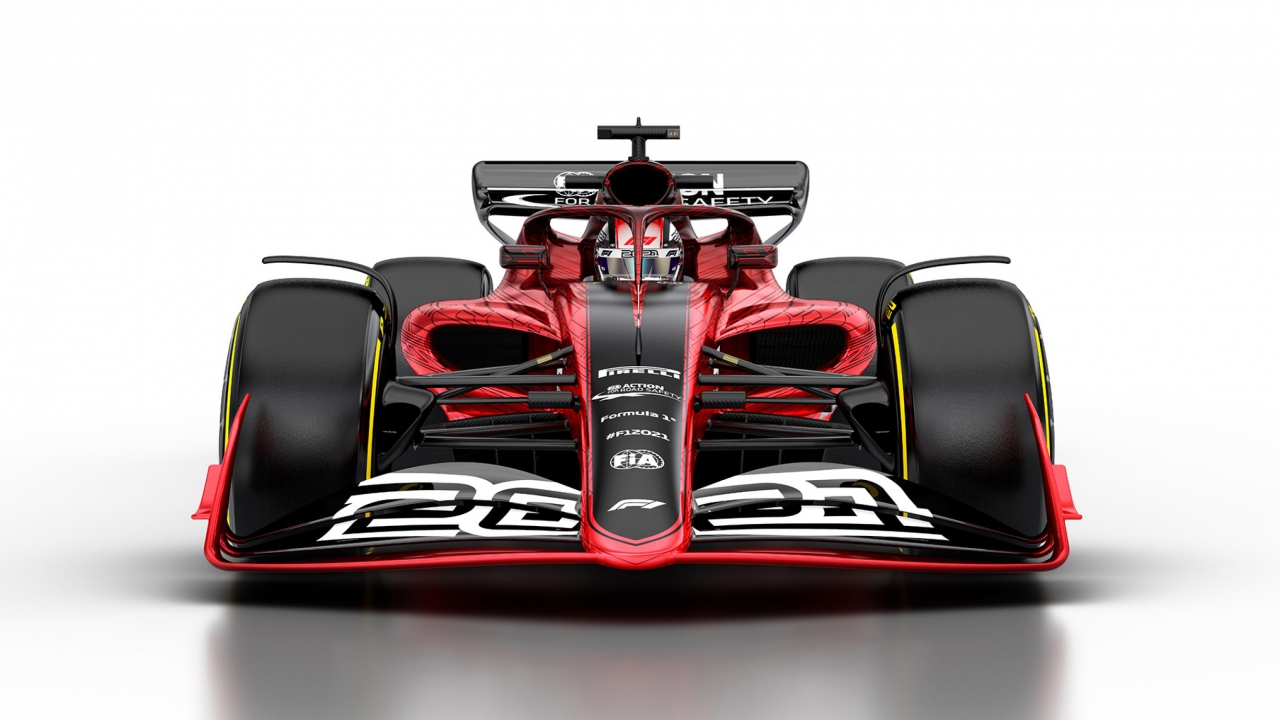 New Formula One car for 2021
