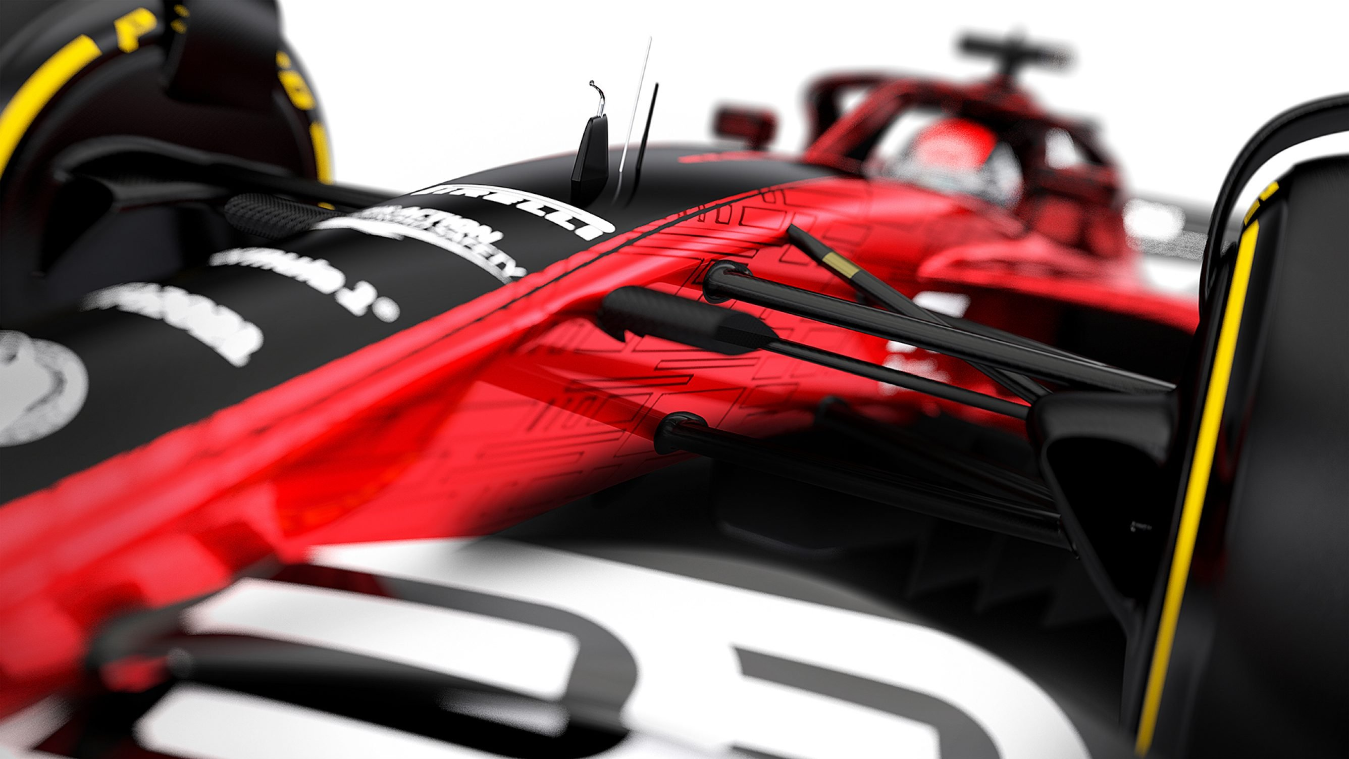 New suspension for 2021 F1 car