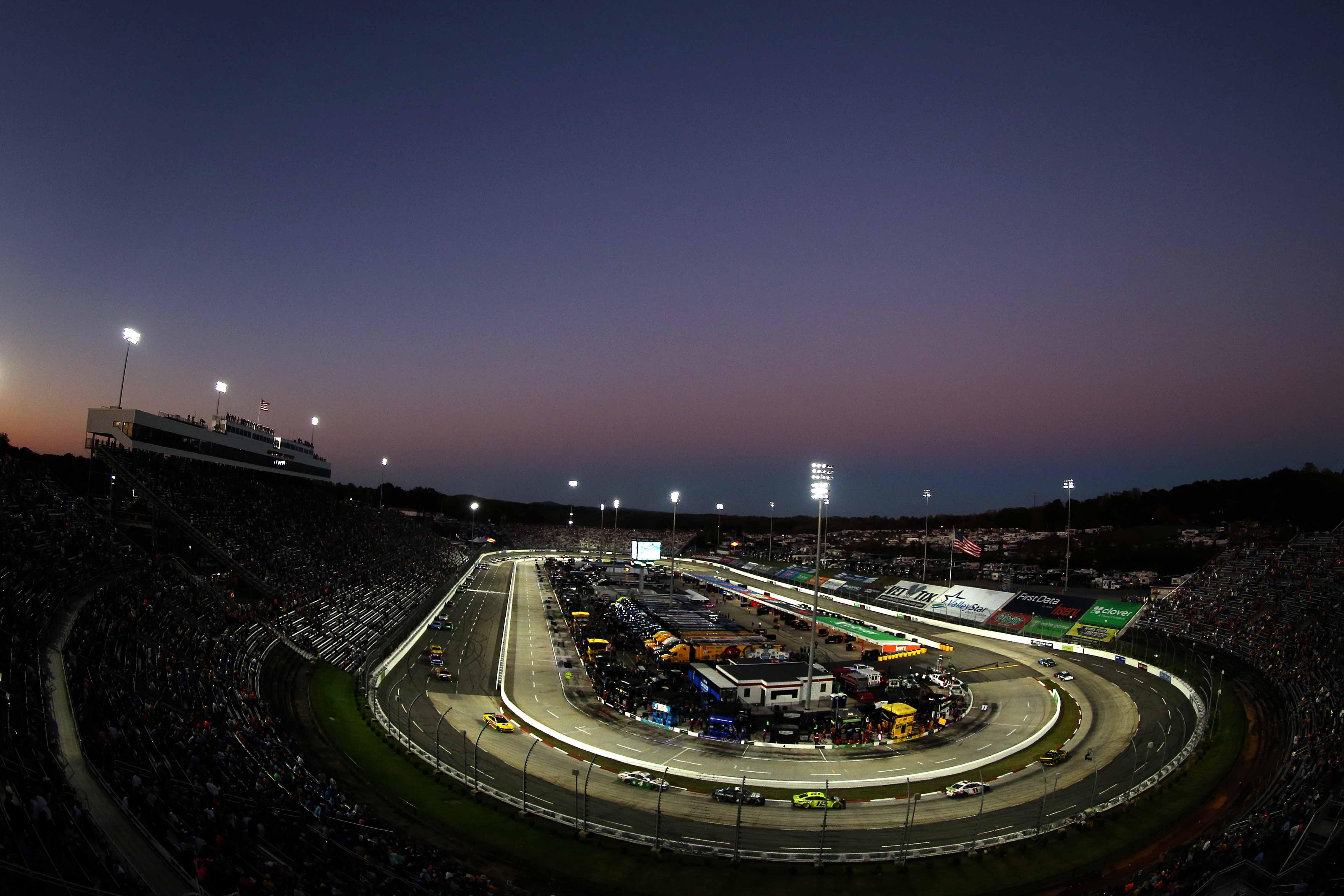 Night racing at Martinsville Speedway