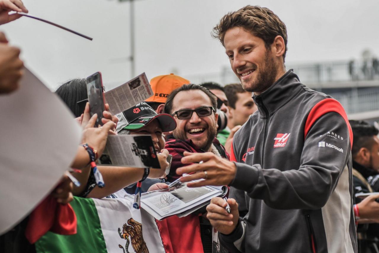 Romain Grosjean - F1 Driver