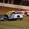 Scott Bloomquist and RJ Conley at Portsmouth Raceway Park - Dirt Track World Championship - Lucas Oil Late Models 8982