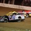 Scott Bloomquist and RJ Conley at Portsmouth Raceway Park - Dirt Track World Championship - Lucas Oil Late Models 8982