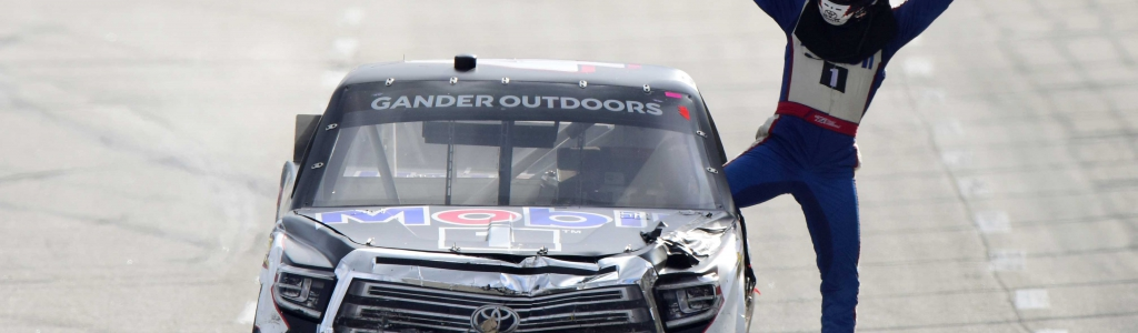 Todd Gilliland knocks team owner Kyle Busch after first NASCAR win (Video)