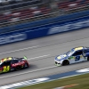 William Byron at Chase Elliott at Talladega Superspeedway - NASCAR Cup Series
