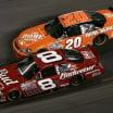 2007 Dale Earnhardt Jr and Tony Stewart at Daytona International Speedway - NASCAR