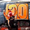 2007 Tony Stewart 20 in victory lane at Daytona International Speedway - NASCAR