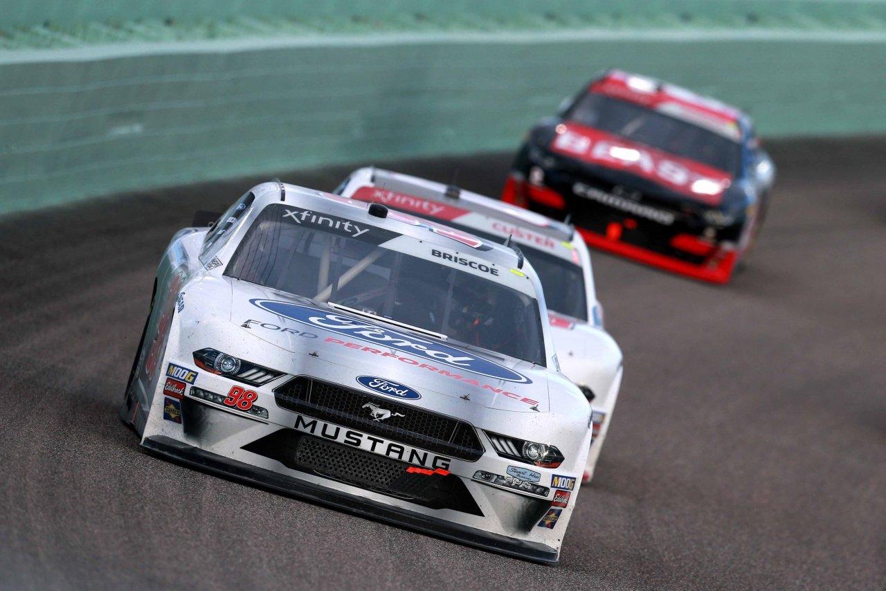 Chase Briscoe at Homestead-Miami Speedway - NASCAR Xfinity Series