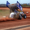 Daryn Pittman at The Dirt Track at Charlotte - World of Outlaws Sprint Cars 9944
