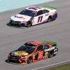 Denny Hamlin and Martin Truex Jr at Homestead-Miami Speedway - NASCAR Cup Series