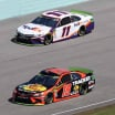 Denny Hamlin and Martin Truex Jr at Homestead-Miami Speedway - NASCAR Cup Series