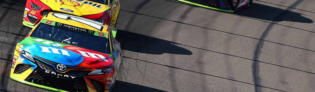 Kyle Busch tells the story of the altercation with Joey Logano before 'whacking him in the head'