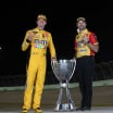 Kyle Busch and crew chief Adam Stevens - 2019 NASCAR Cup Series champions