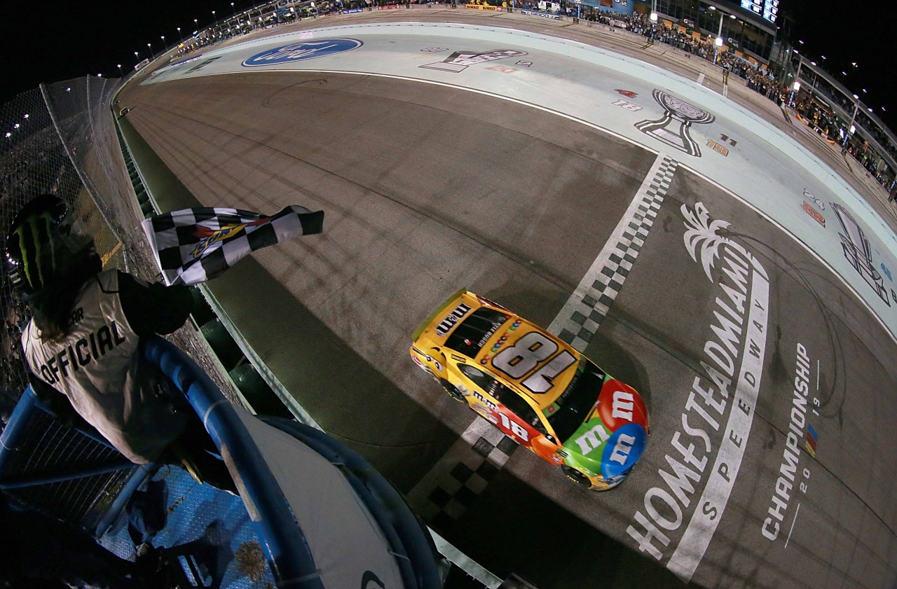 Kyle Busch wins Homestead-Miami Speedway - NASCAR Cup Series