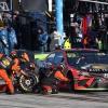 Martin Truex Jr pit stop at Homestead-Miami Speedway