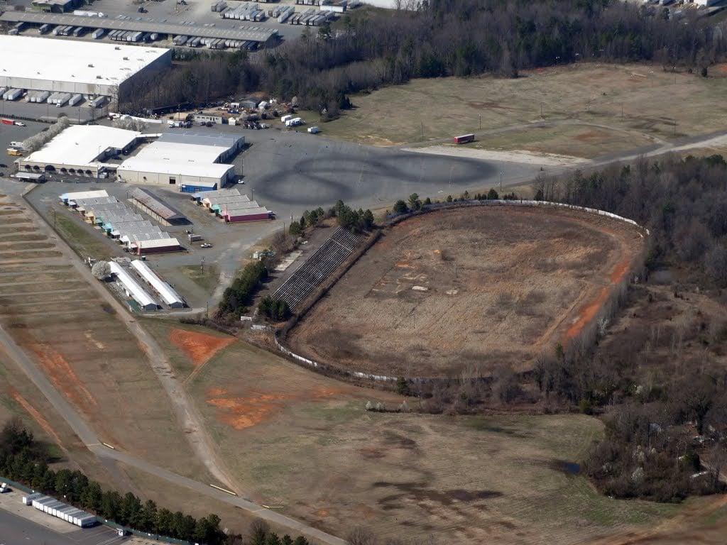 Metrolina Speedway aerial