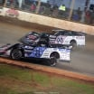 Scott Bloomquist and Chris Madden on The Dirt Track at Charlotte - World of Outlaws Late Model Series 0541