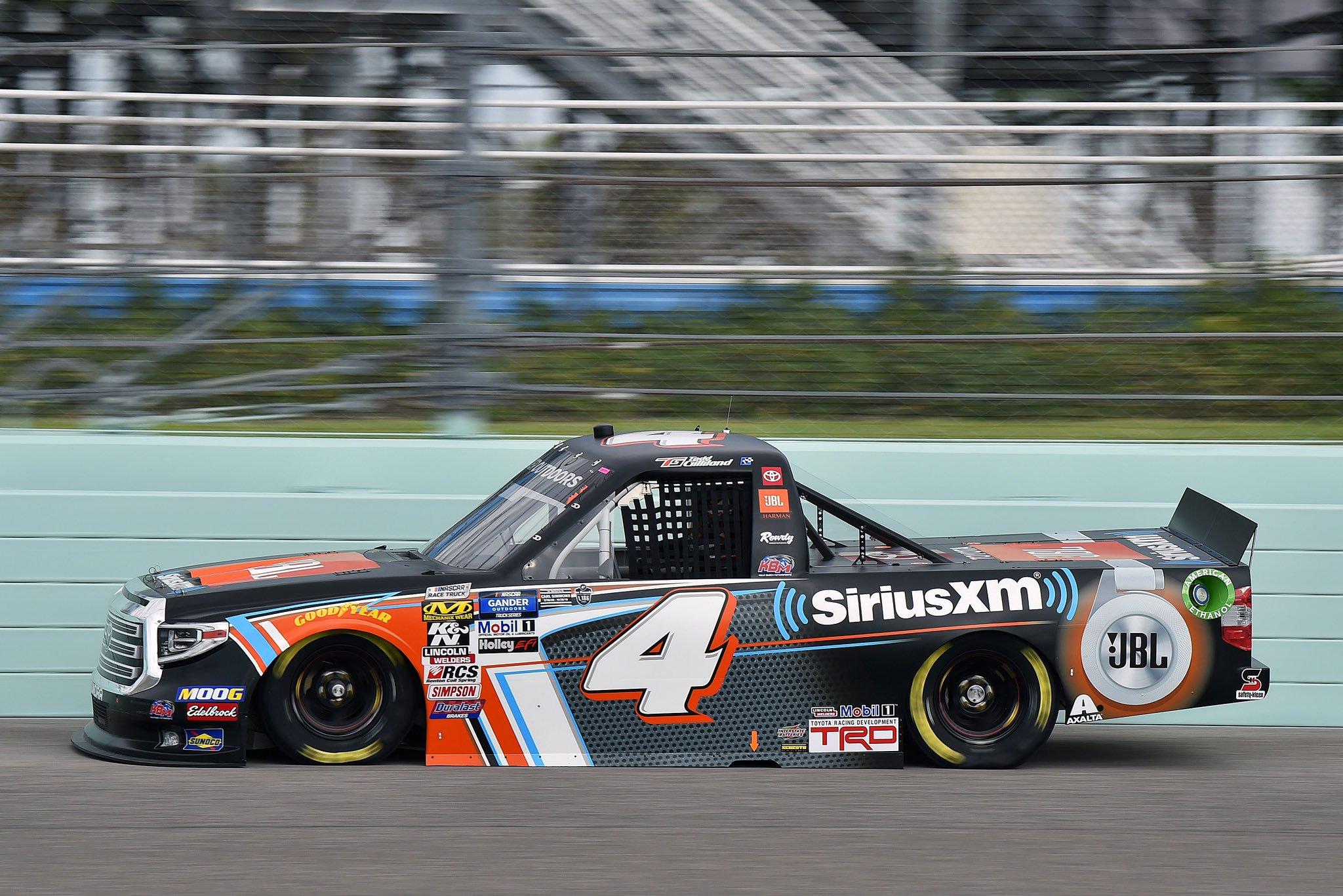 Todd Gilliland at Homestead-Miami Speedway - NASCAR Truck Series