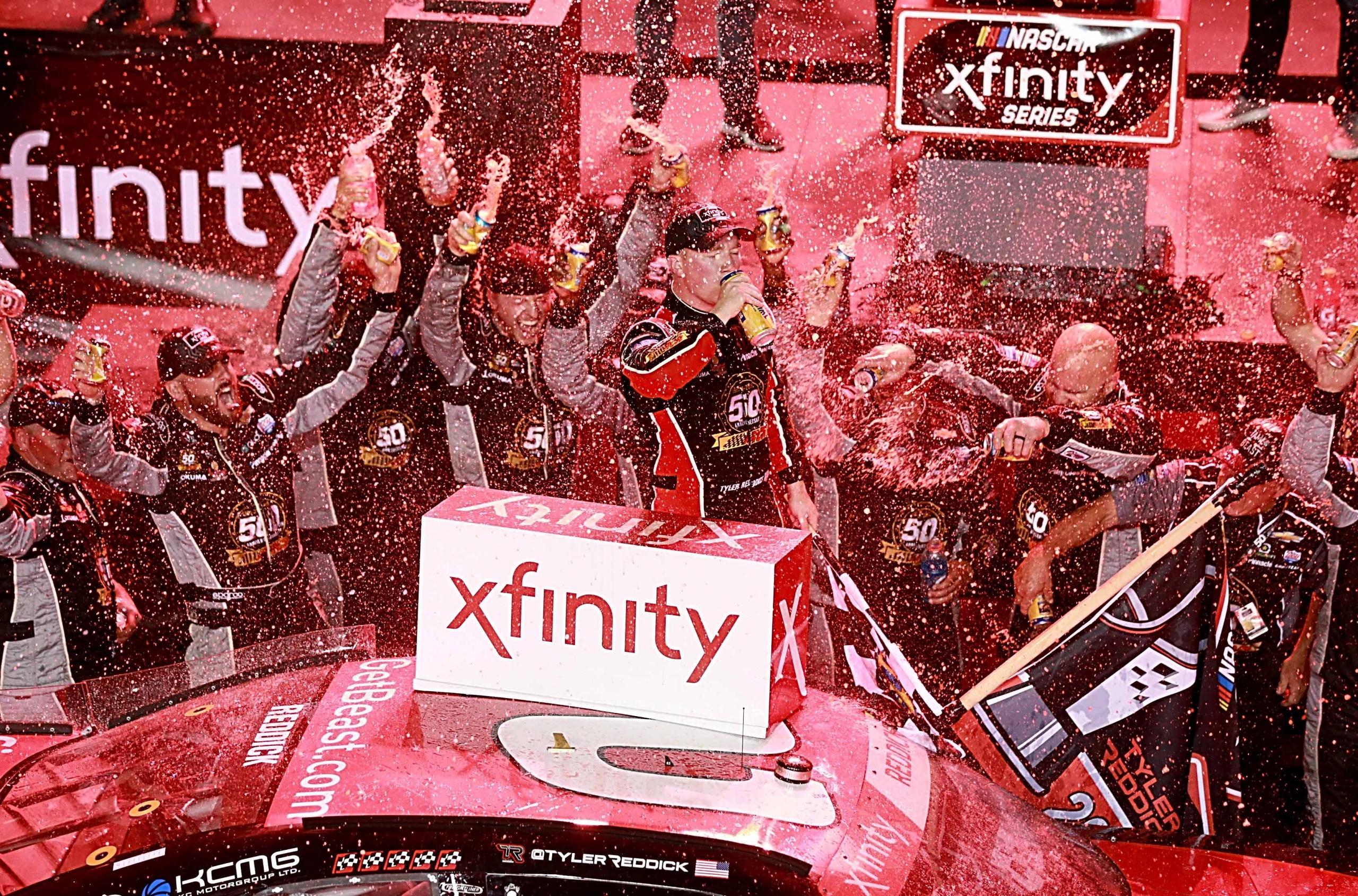 Tyler Reddick - 2019 NASCAR Xfinity Series champion