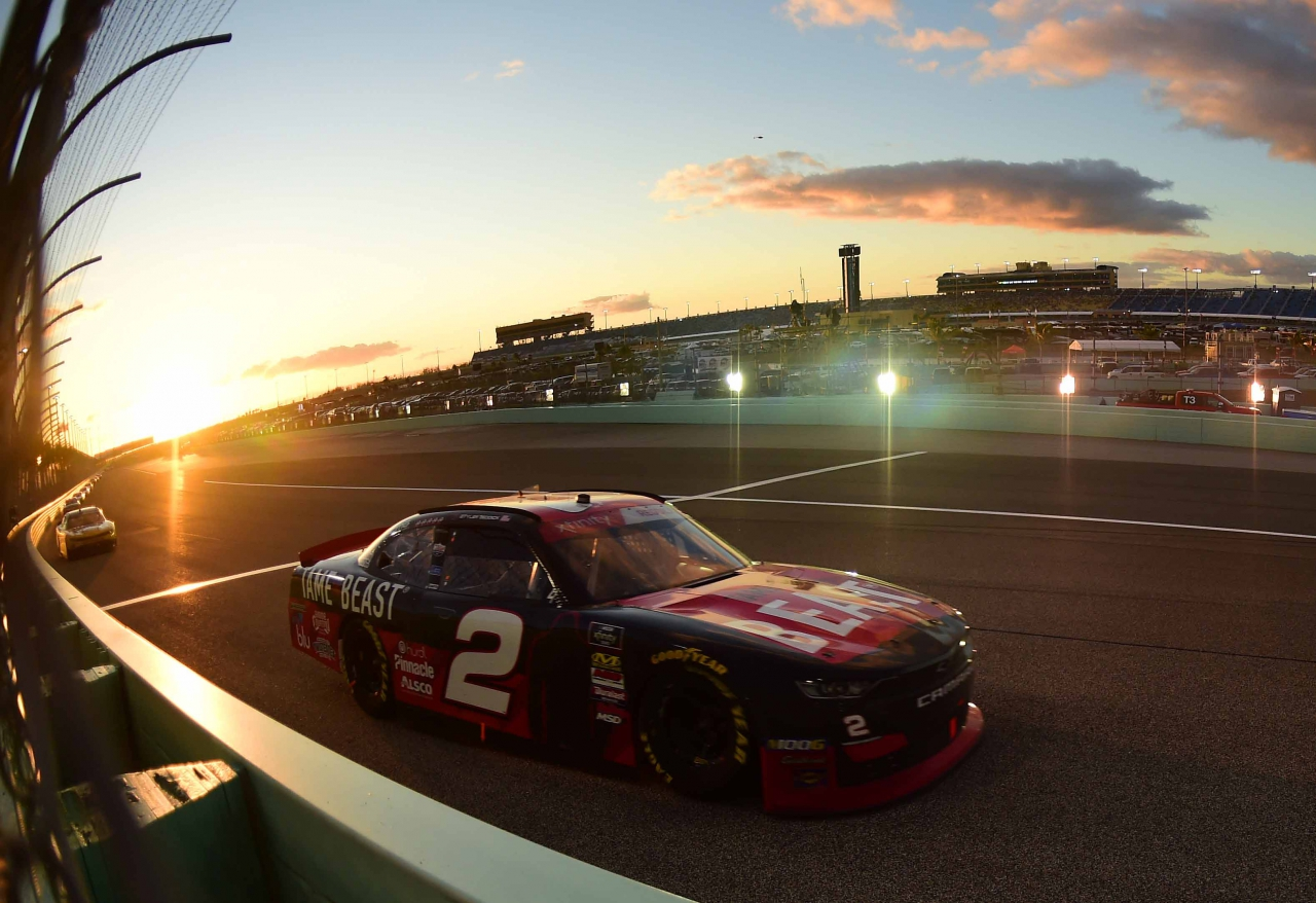 Tyler Reddick at Homestead-Miami Speedway - NASCAR Xfinity Series