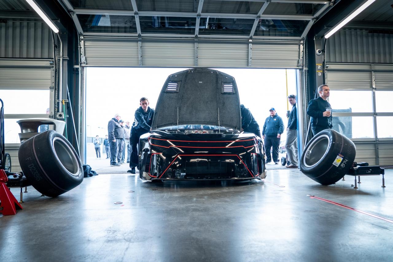 2021 NASCAR car - Garage Test